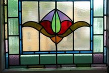 Stained glass / Visions of loveliness and inspiration / by Paula O'Neill