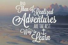 A D V E N T U R E : A B R O A D / Places to Go Around the World / by Chantal Hendrickson