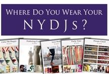 Where you Wear your NYDJ / by Sylvia Zamora Ortiz
