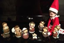 Elsie our Elf on the Shelf  / by Kathy Benitez