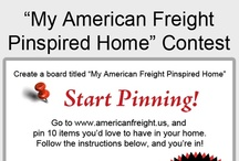 My American Freight Pinspired Home / by Sylvia Zamora Ortiz