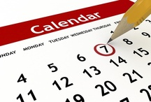 Event Calendar Weekly/Yearly / List of Event Coordinators and Sites / by Vendors Wanted SoCal