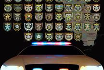 Law Enforcement Patches / by Gene Palmer