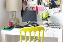 Home Office and Workspace / I really need a home office or workspace in my house! / by Jennifer Grey M. Padilha