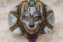 Beadwork (Bracelets/Cuffs) / by D C
