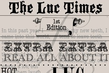 """Extra, Extra! Party / Chic party ideas to go along with Luc & Lilah Events """"Extra, Extra!"""" Invitation / by Luc & Lilah Events"""