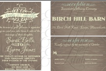 Wedding Papers & Details / by Luc & Lilah Events