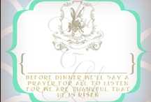Easter Papers & Ideas / by Luc & Lilah Events