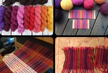 Spinning, weaving, knitting etc / Handspun, woven, knitted or otherwise fibery things that inspire me. / by Sarah Anderson
