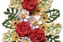 crochet appliques,etc / by Joy Allen