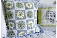 Crochet pillows  / by Joy Allen
