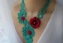 crochet jewelry / by Joy Allen