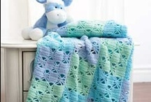 crochet baby blankets / by Joy Allen