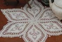 crochet doilies / by Joy Allen
