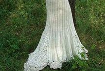 crochet wedding dresses/accessories/antique dresses / by Joy Allen