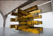 Sculpture / Art so dimensional,structured and complex that a canvas could not contain. / by Victor-Raul Garcia