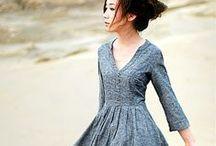 skirts & dresses / by Melanie Berg