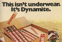 Vintage underwear adverts / Lets see how people have enticed us to buy underwear in the past.... / by Shreddies Ltd