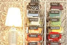 Storage & Organization / by Tracy (Tandy) Anderson