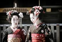 Geishas / I'm obsessed with the beauty and traditions of the Geisha culture. / by Tracy (Tandy) Anderson