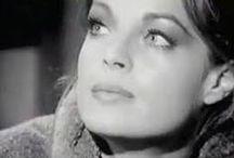 """~Fan~ Romy Schneider / """" Le talent, c'est une question d'amour """" (Romy Schneider) / by Carole Ccfb"""