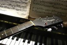 Musical instruments / by Carole Ccfb