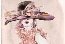 Fashion Illustrations / by ☆•.¸¸♪♫•*¨*• Mina Frost •*¨*•♫♪¸¸.•☆