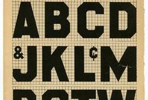 Type Font Letter / by Rain