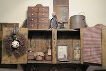 Perfectly Prim / Primitive decor is quickly becoming my favorite! / by Tawny Trusty