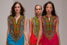 African dresses & tunics / by Kathryn Timms