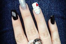 Awesome nail design  / Nail designs  / by Tab Mccausland