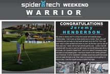 SpiderTech Weekend Warriors / Every week we pick a new Weekend Warrior and send them a $100 SpiderTech gift card in honour of their achievements! Do you have what it takes? Enter today: http://www.spidertech.com/weekend-warrior/ / by SpiderTech Tape