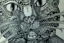 Colouring Pages / by Hannelie Pienaar