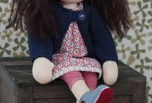 waldorf dolls for megan rosa / by patricia