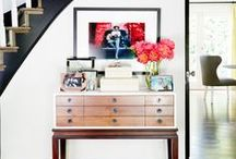 HOME: Entryway / by Kimberly | A Night Owl Blog