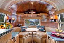 Airstreams/retro campers / by Amy Schwarzlander