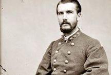 Confederates / Grey / Rebels / Johnny Reb / by Paul Greene