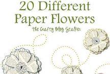 Papel, Origami, y Carton (2) / todo lo que esta hecho con papel y carton / by Enrhedando Yolanda