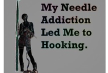 Crochet/Knitting-My Needle Addiction / by Carrie Berry-Good