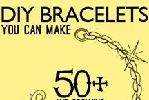 Pulseras Diy / Bracelets.Toda clase de Pulseras para hacernos nosotras mismas y alguna idea para inspirarse... / by Enrhedando Yolanda