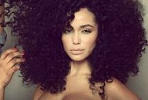 Curls, Curls, and More Curls / Pretty curly hair / by Lady TMarie