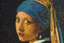"""Who's that Girl? / One of the most famous paintings in the world, Johannes Vermeer's """"Girl with a Pearl Earring,"""" is making her Southeastern debut this summer at the High! The Girl is depicted throughout the world in a variety of different forms, from Legos to iPad drawings. """"Girl with a Pearl Earring: Dutch Paintings from the Mauritshuis"""" is on view at the High from Jun. 23 - Sept. 29, 2013. Check out our special website for this exhibition: http://www.high.org/Girl-With-A-Pearl-Earring.aspx / by High Museum of Art"""