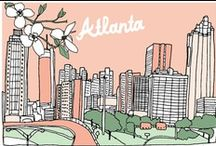 Georgia on My Mind / As the the leading museum in the Southeastern United States, we are proud to call Atlanta, Georgia our home. We want to share with you some of our favorite things about our location in the big Southern city!  / by High Museum of Art