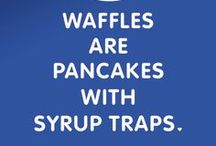 Breakfast Wisdom / Coffee talk and breakfast wisdom served fresh with a side of pancakes.  / by IHOP