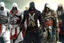 Assassin's Creed / Assassin's Creed Series is my favorite game series and are best games I've played. The story and concept of the game is amazing. The Assassin characters and weapons are awesome. Ezio Auditore da Firenze is my favorite and the best assassin (in my opinion).  / by Patrick Primacio