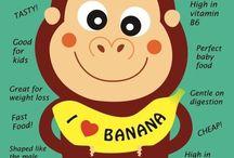 all monkeys like Banana's!!! / recipes, banana, etc. / by m herron