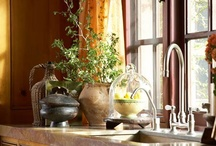 Kitchens - Country, French Country and Cottage / by Leone