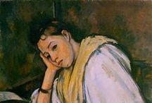 Art-Cezanne,Paul Post Impressionism / Post Impressionism 1885-1910 Cezanne, Van Gogh, P. Gauguin / by Joanna Lazuchiewicz