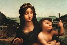 Art-Da Vinci, Leonardo Renaissance / Early & High Renaissance 1400-1550 / by Joanna Lazuchiewicz