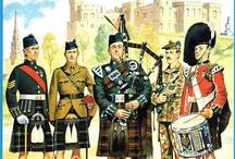 Scottish Military Uniforms on Pinterest / Scottish Military Illustrations / by Scottish Military Uniforms